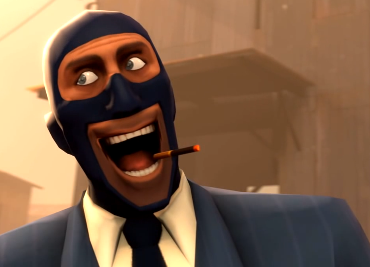 Team Fortress 2 Spy S Rape Face By Musicandartismylife On Deviantart