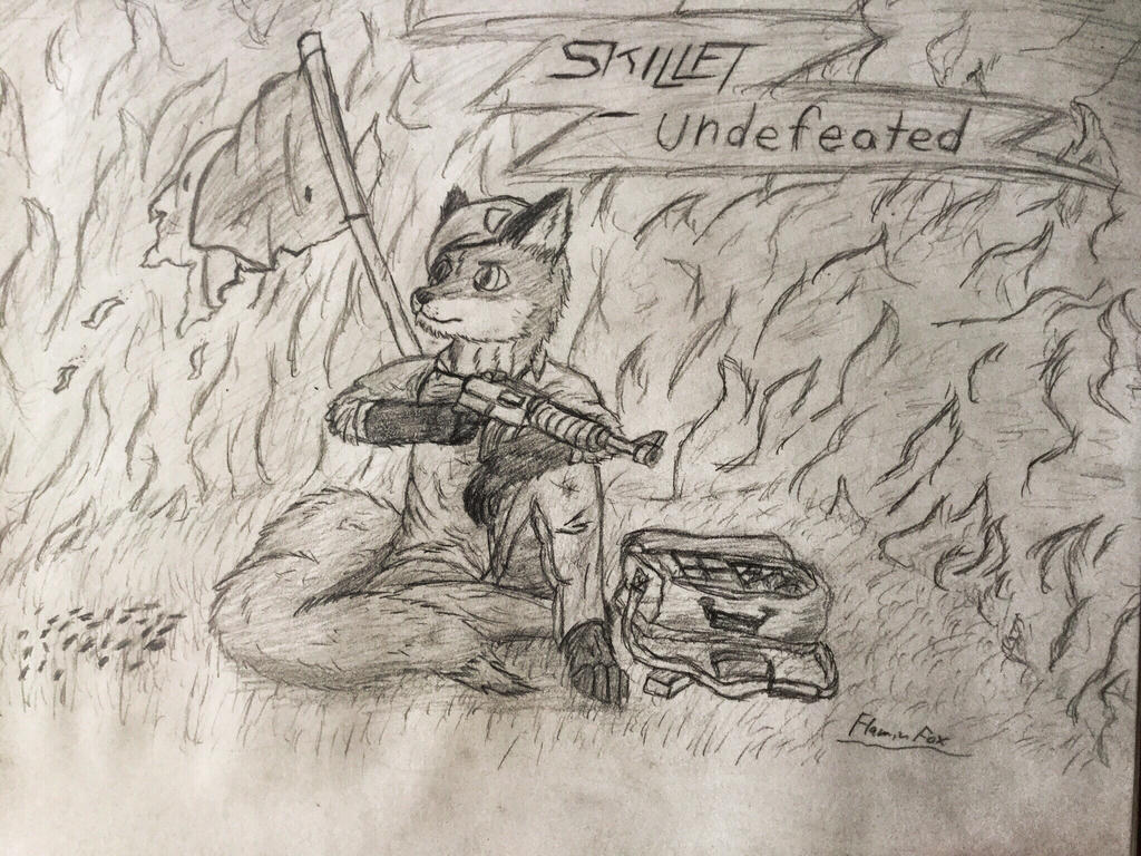 I'm undefeated by FlaminFox-Gaming on DeviantArt