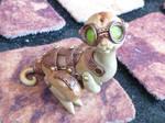 Saddleback Steampunk Dragon Pal sculpture