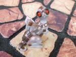 Square Wings Steampunk Dragon