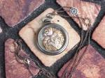 Pocket Watch Steampunk Dragon Pal
