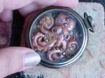 Octopus pocket watch