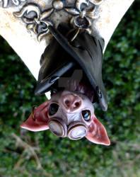 Steampunk Bat Sculpture