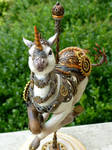 Steampunk Carousel Unicorn