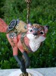 Steampunk Carousel Fox