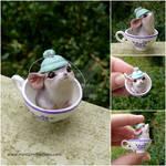 Tea Mouse Ornament