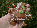 Gingerbread Turtle ornament