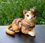 Steampunk stripped Kitty