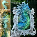 Sea Dragon Framed Sculpture
