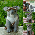 Steampunk Koala Sculpture