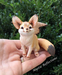 Winged Fennec Fox