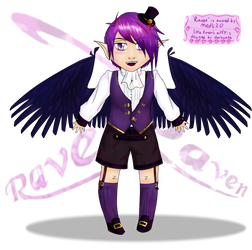 Little Raven by darocoth