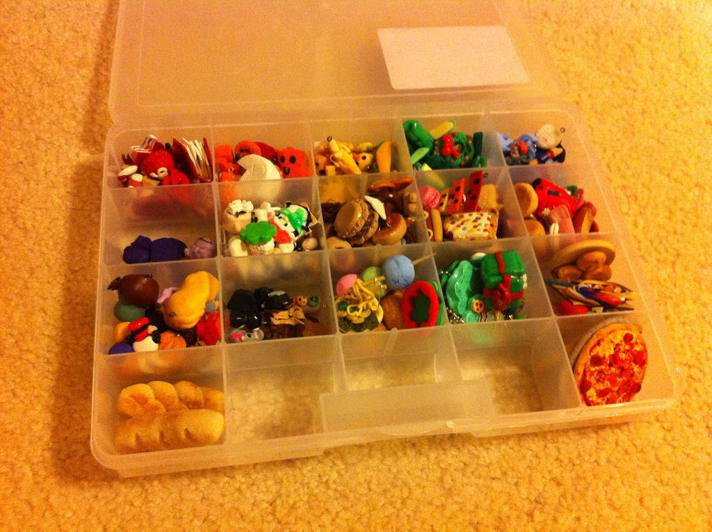 Polymer clay box! by sarahthemerp