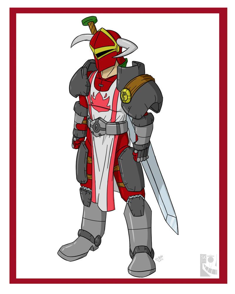 Scarlet Crusader! by Sk-8080