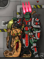 [COM] Wrex and Prida by Sk-8080