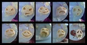 butter faces of Jack Skeletor by HanHan
