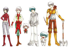 Random characters--Han1 by HanHan