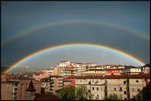 Double rainbow--Han2 by HanHan