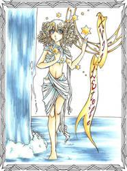 Tarot XVII: L'Etoile--Han1 by HanHan