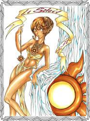 Tarot XIX: Le Soleil--Han1 by HanHan