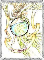 Tarot XXI: Le Monde--Han1 by HanHan