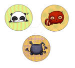 Cute buttons I by HanHan