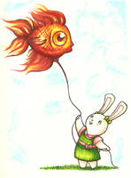 Flying fish--Han2 by HanHan