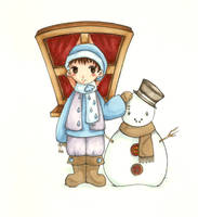 Winter boy--Han1 by HanHan