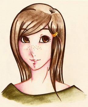 Watercolour pencils--Han1