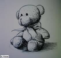 Teddy bear by HanHan