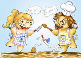 Cook wars by HanHan