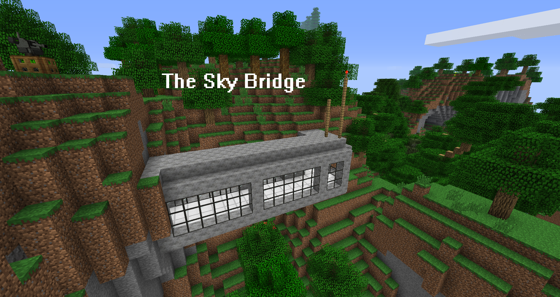 terrantechnocrat nrf minecraft facility the sky bridge by terrantechnocrat - Minecraft Japanese Bridge