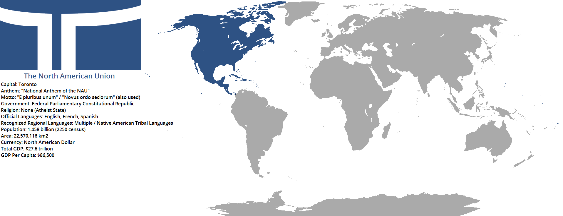 2250 The North American Union by TerranTechnocrat on DeviantArt