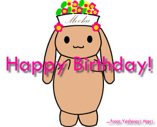 Happy Birthday to Mocha by yellowmocha
