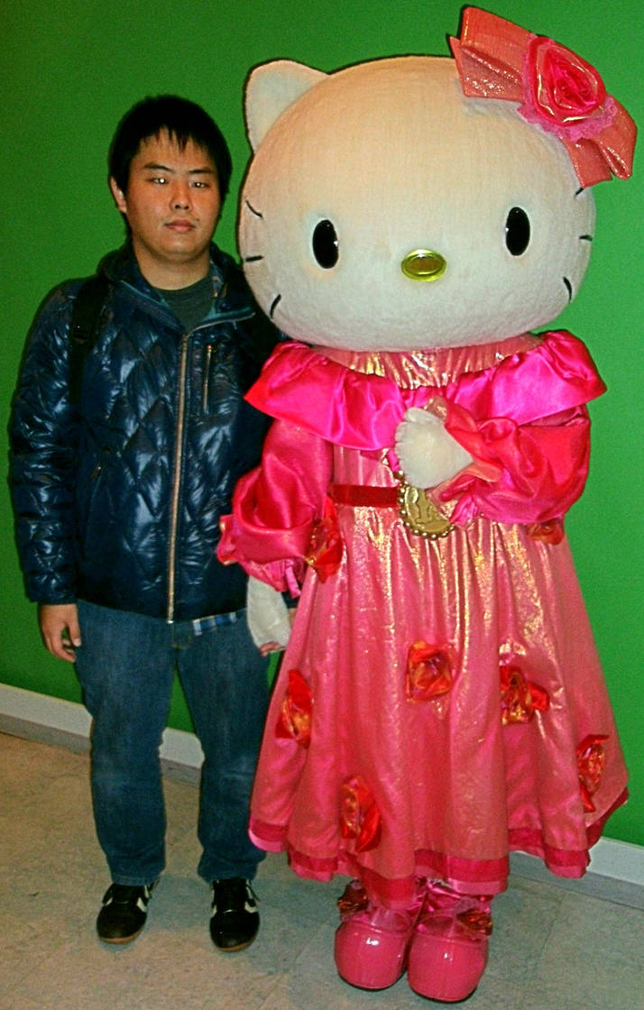 6f1c63475 Hello Kitty (costume 2) and me by yellowmocha on DeviantArt