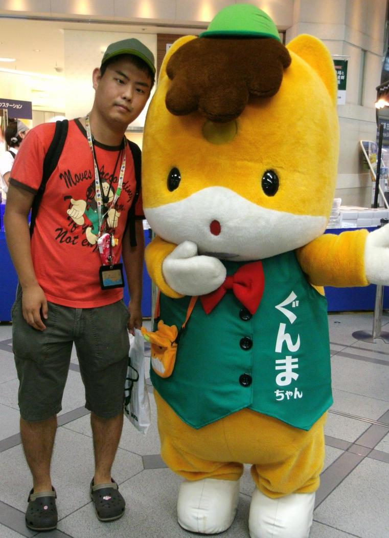 Gunma-chan and me by yellowmocha