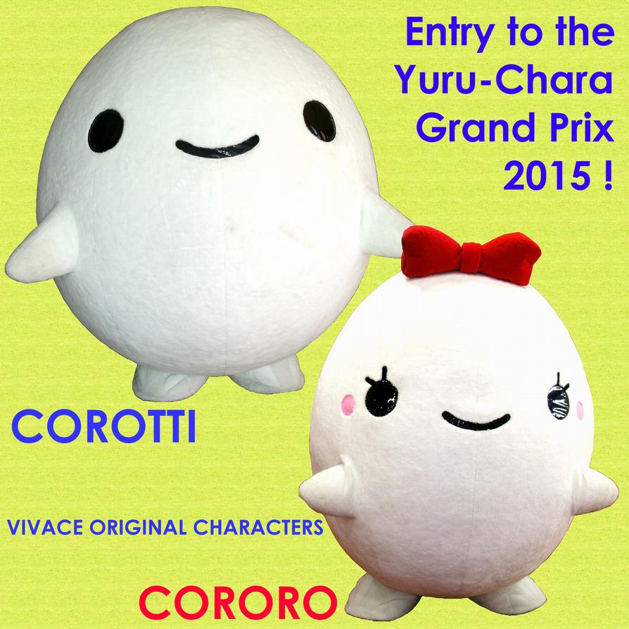 Corotti Cororo in the Yuru-Chara Grand Prix 2015 by yellowmocha