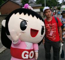 Go-chan and me by yellowmocha