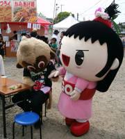 Osaru no Kuu (costume 3) and Go-chan 1 by yellowmocha