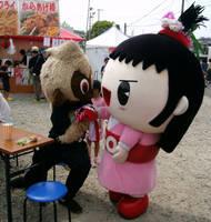 Osaru no Kuu (costume 3) and Go-chan 4 by yellowmocha