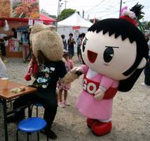 Osaru no Kuu (costume 3) and Go-chan 5 by yellowmocha