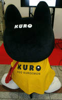 Kuro-chan 5 (back shot) by yellowmocha