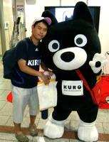 Kuro-chan and me by yellowmocha