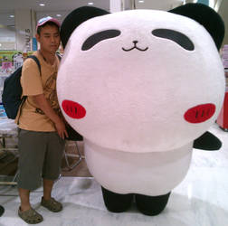 TapuTapu the Panda and me by yellowmocha