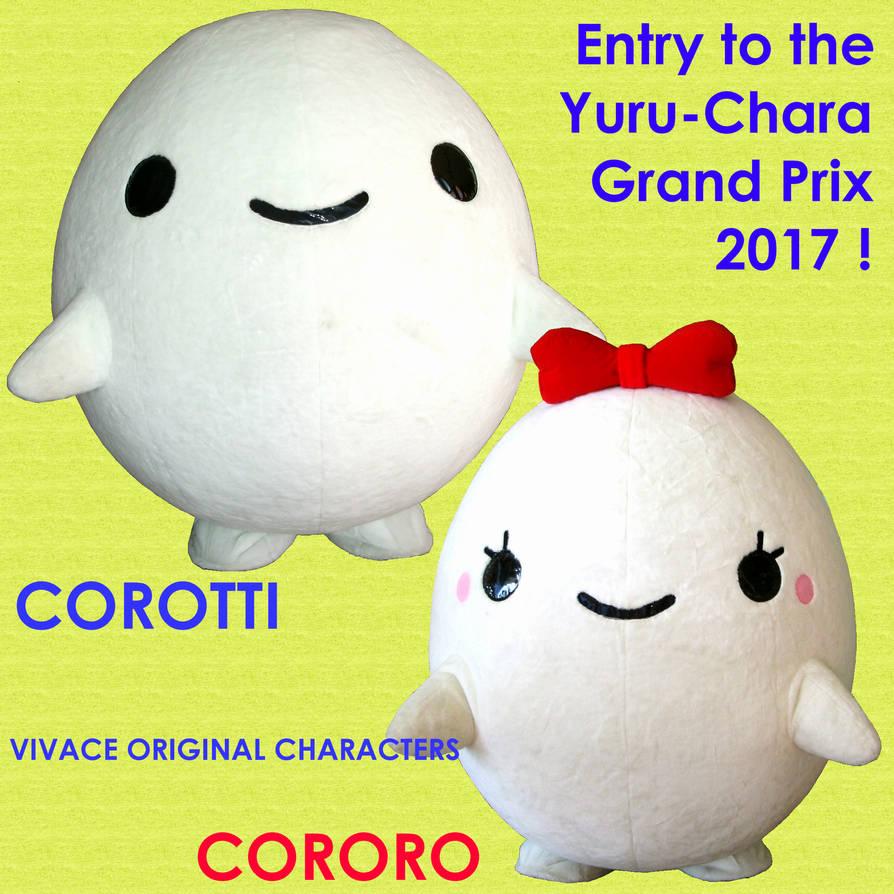 Corotti Cororo in the Yuru-Chara Grand Prix 2017