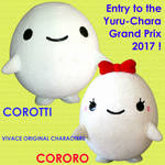 Corotti Cororo in the Yuru-Chara Grand Prix 2017 by yellowmocha