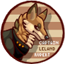 Captain Ainsworth Button by FizzGryphon