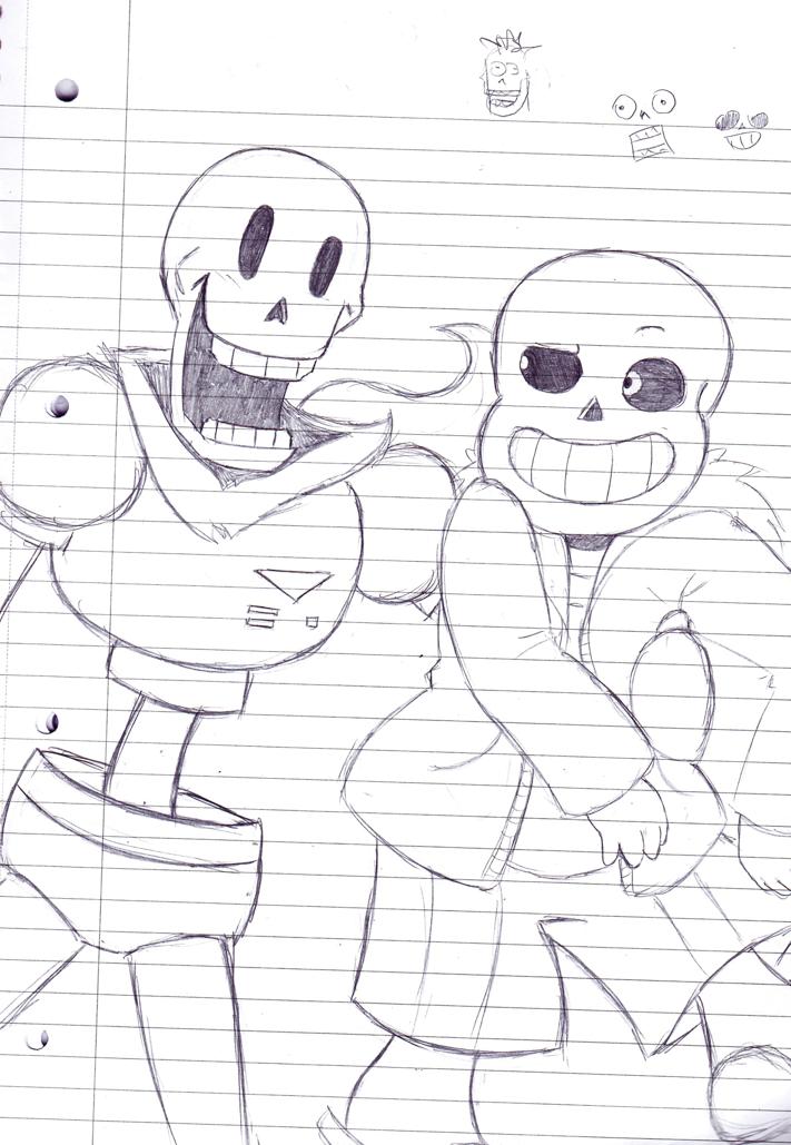 Skelebros by LiruRules