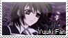 Stamp Yuuki Cross Fan by ReikoLynx