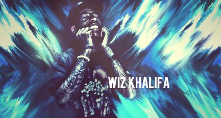 Wiz Khalifa - blu' and SKiZZO by gfxskizzo